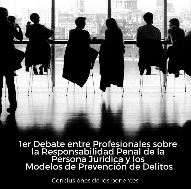 Debate de profesionales de Compliance