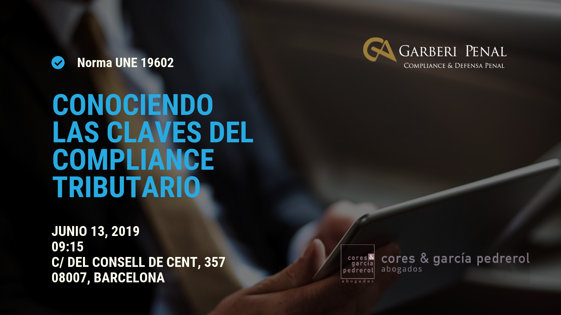 Norma UNe 19602 Compliance Tributario